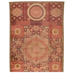 Marvelously Decorative Anatolian Oushak Carpet