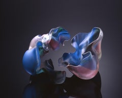 """Lauscha Group 1997 #10"", Contemporary, Blown, Glass, Sculpture, Sandblasted"