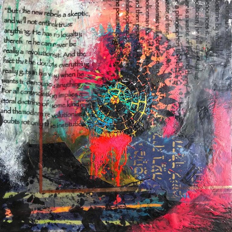 Rebel Rights - Mixed Media Art by Mary Amendola Marley