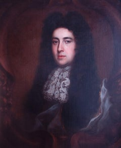 Portrait of Charles Fox (1660-1713). English 17th century.