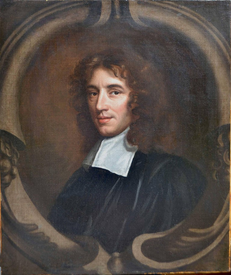 Mary Beale Portrait Painting - Portrait of Isaac Barrow