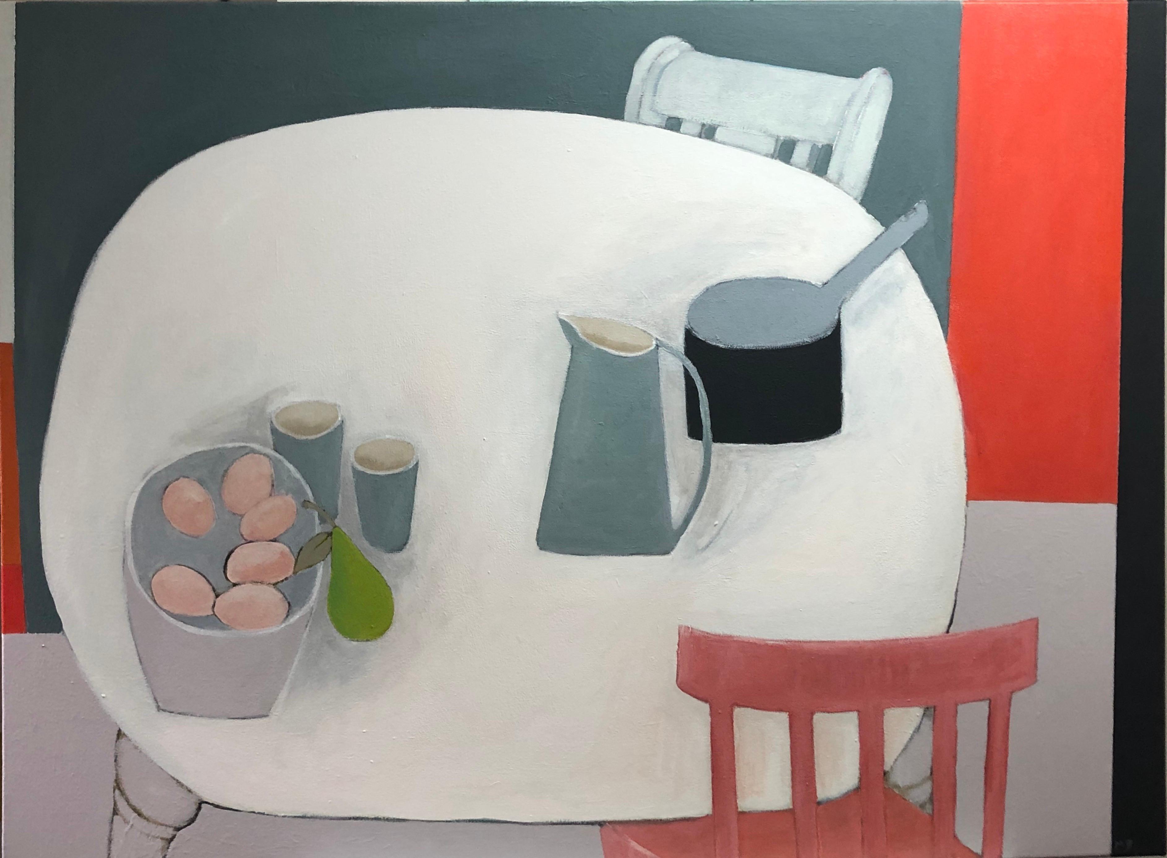 Basket of Eggs - Still Life Painting