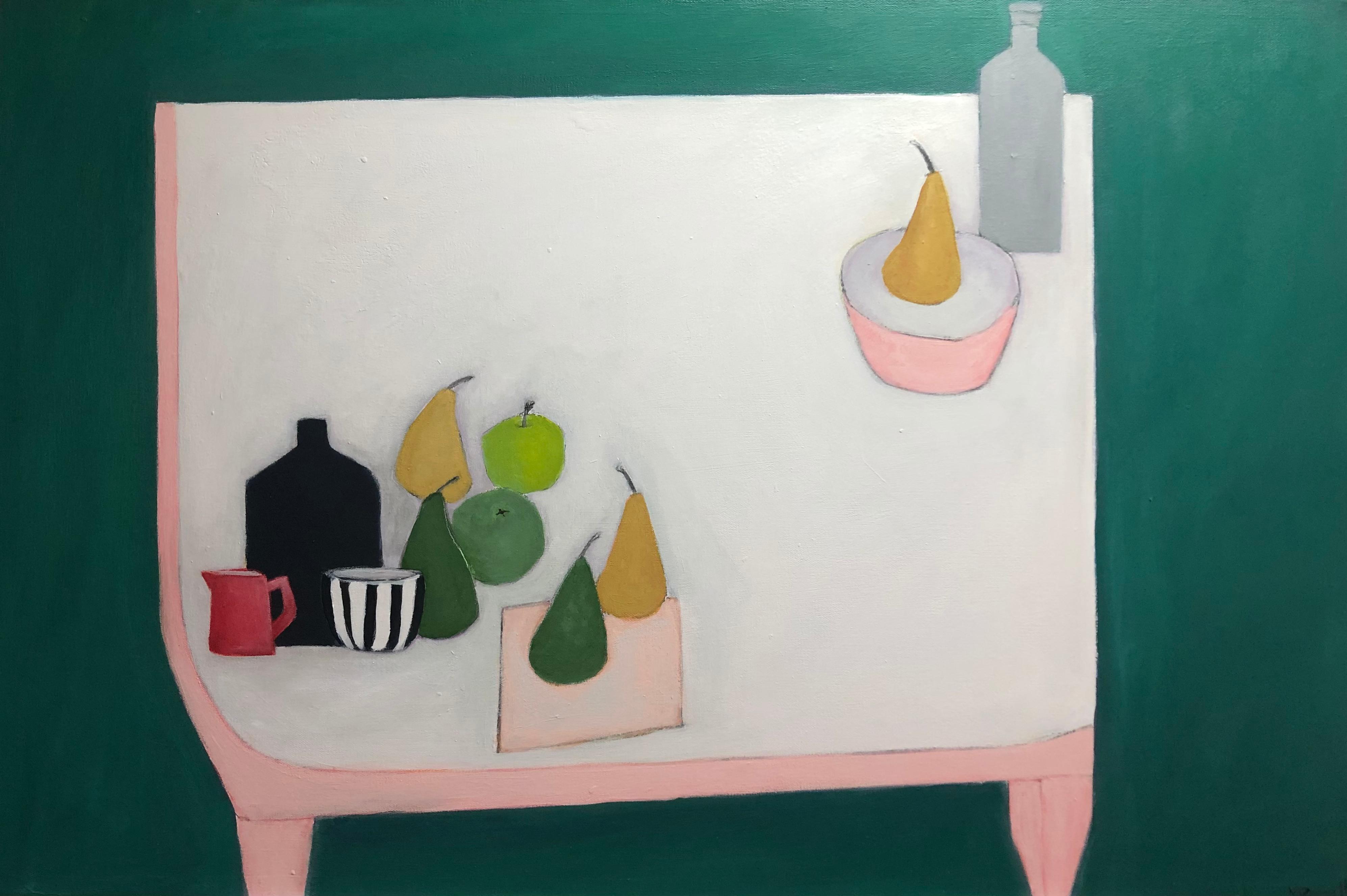 Small Red Jug - Still Life Painting