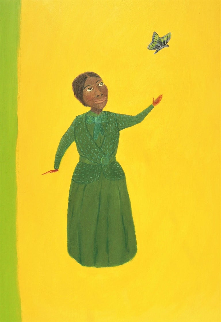These new paintings illuminate individuals of the American Suffrage Movement. Elizabeth Cady Stanton, Ida B Wells and Alice Paul, each one intelligent, brave and incredibly relentless in the struggle to attain voting rights for American women.