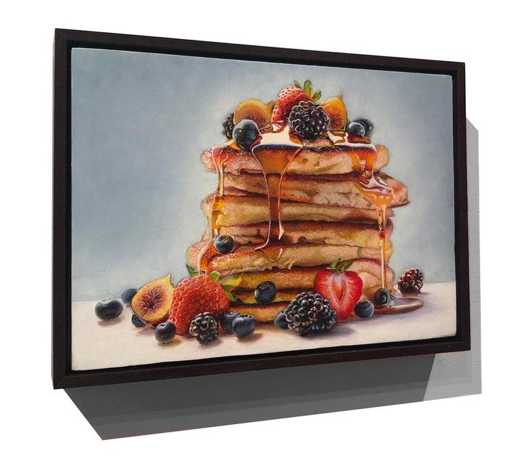 Photorealist Still Life with Pancakes,
