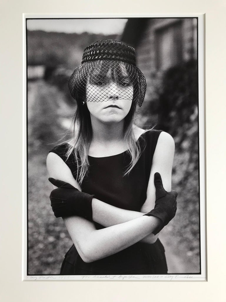 Portrait, Street Photography, Seattle, America, Black and White photograph, Vintage, Arnold Newman From the collection of Arnold Newman  In 1988, Mary Ellen Mark published a poignant document of a fiercely independent group of homeless and troubled