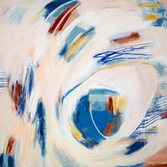 """""""Touch,"""" Abstract Painting"""