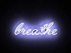 breathe - neon art work