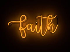 faith - neon art