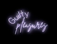 Guilty pleasures  - neon art work