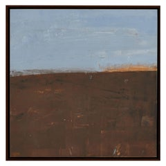 Mary Jo O'Gara Painting, Spring Field, Sun on Dune