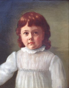"""Child in White Dress"""
