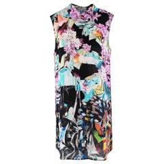 Mary Katrantzou Multi-coloured Floral Pattern Shift Dress - Size Estimated M