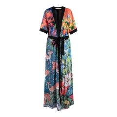 Mary Katrantzou Natalia Floral Sequin Embellished Crepe Dress - Us size 6