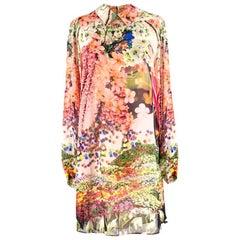 Mary Katrantzou Silk Floral Dress US 6