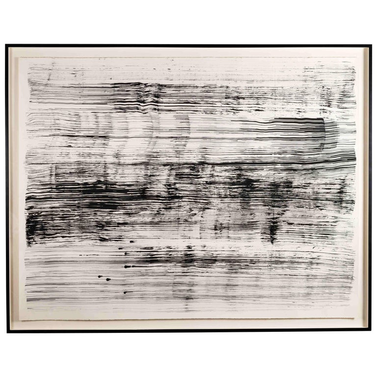 Mary McDonnell, Untitled 3, Contemporary Framed Drawing, United States, 2009 For Sale