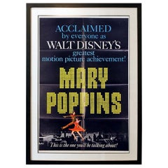 """""""Mary Poppins"""" '1964' Poster"""