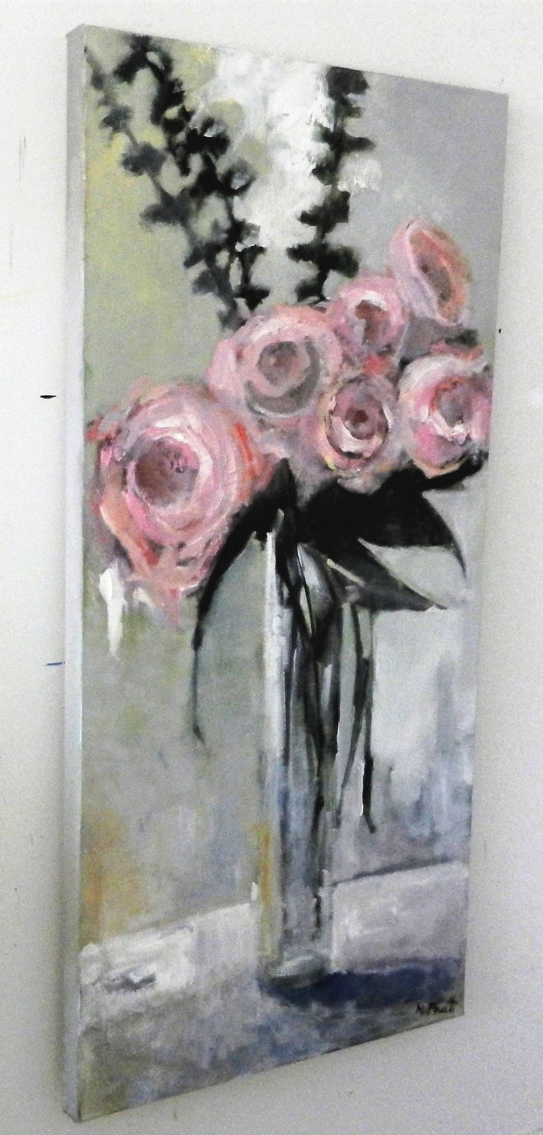 Tall Pink - Painting by Mary Pratt