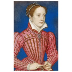 Mary, Queen of Scots Authentic Antique Strand of Hair, 16th Century