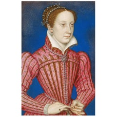Mary, Queen of Scots Authentic Strand of Hair