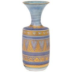 Mary Rich Miniature Porcelain Studio Pottery Islamic Influence Pattern Vase