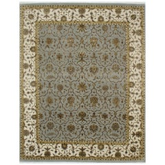 Persian hand Knotted - Maryam Blue Ivory, Edition Bougainville