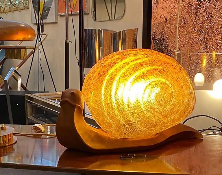 Glass Marzio Cecchi for Dimensione Fuoco Table Lamp For Sale
