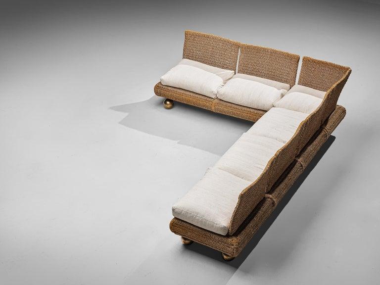 Italian Marzio Cecchi for Studio Most Sectional Sofa For Sale