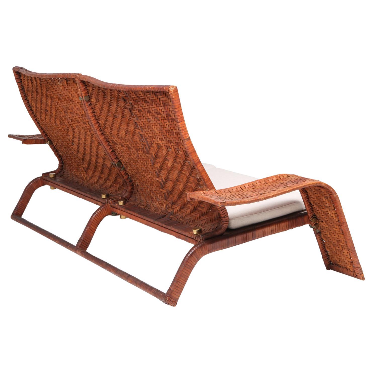 Marzio Cecchi Postmodern Leather Couch