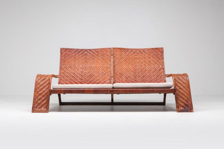 20th Century Marzio Cecchi Postmodern Living Room Set For Sale