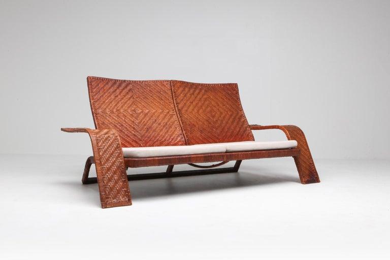 Brass Marzio Cecchi Postmodern Living Room Set For Sale