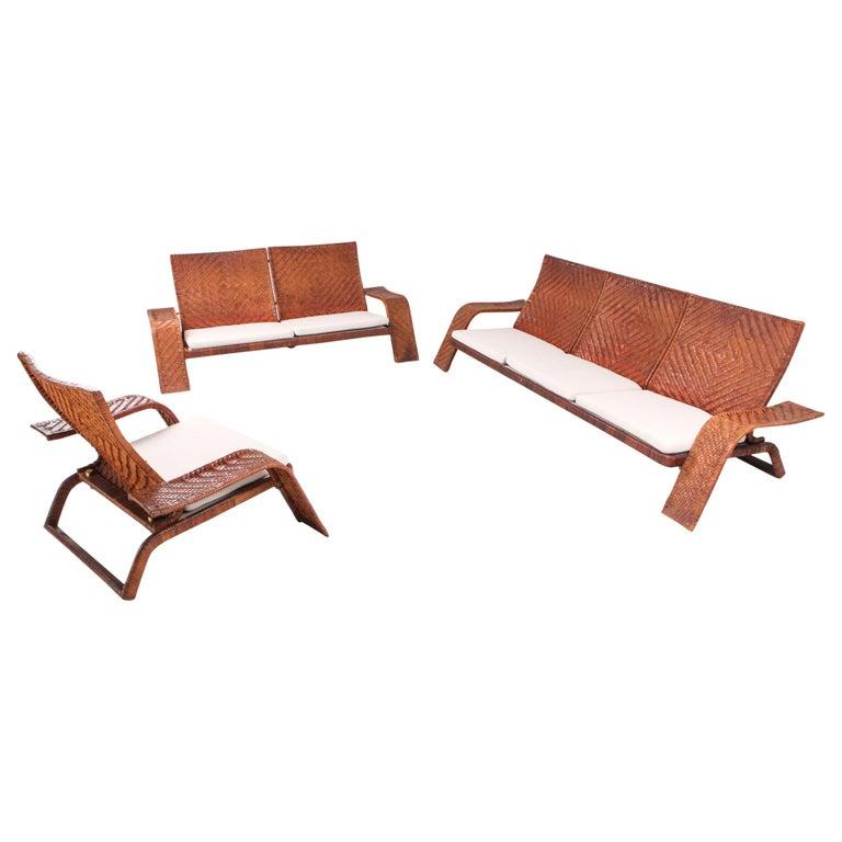 Marzio Cecchi Postmodern Living Room Set For Sale