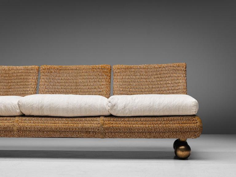 Late 20th Century Marzio Cecchi Sectional Sofa For Sale