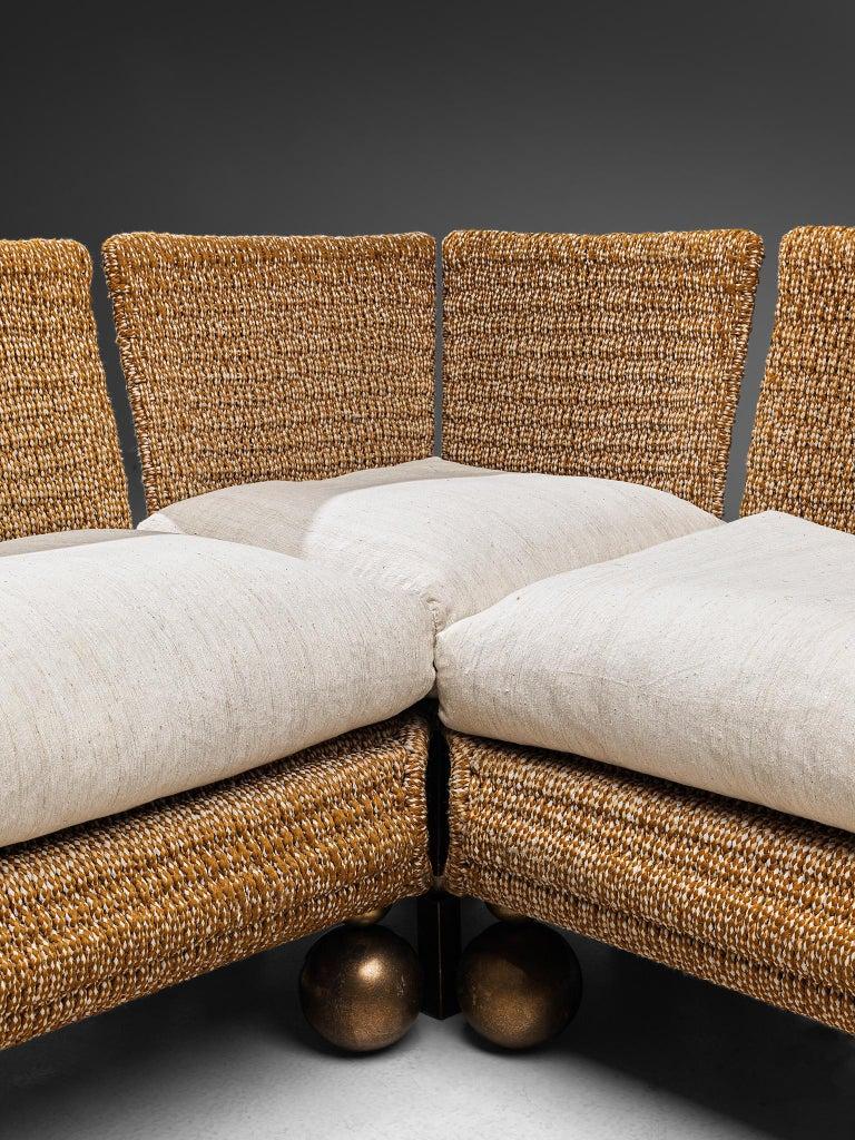 Marzio Cecchi Sectional Sofa For Sale 1