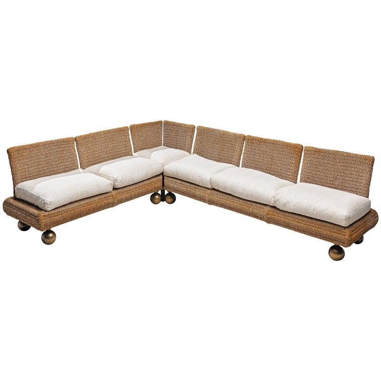 Marzio Cecchi Sectional Sofa For Sale
