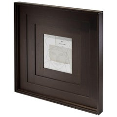Masaccio contemporary design Wenge and Bone Picture Frame by Giordano Viganò