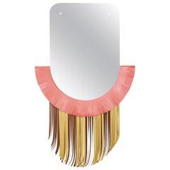 Masai Mask Mirror by Serena Confalonieri