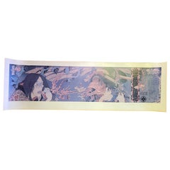 Masami Teraoka Signed Los Angeles Sushi Ghost Tales Fish Woman Exhibition Poster