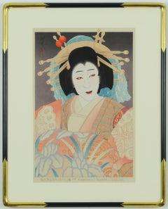 Nakamura Utaemon VI as the Courtesan Yatsuhashi