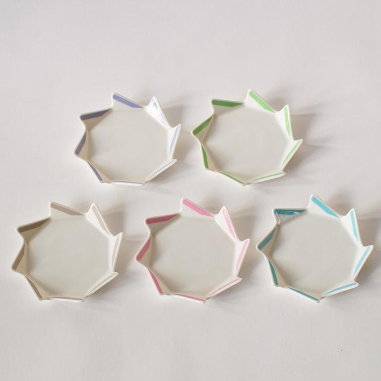Late 20th Century Masanori Umeda Five Color Plates Postmodern For Sale