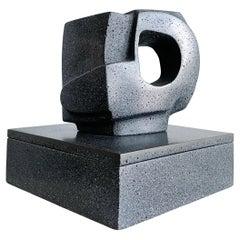 Masatoya Kishi 'Kuki' Composition Organic Modern Sculptural Box Signed