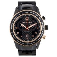 Maserati Corsa Black Stainless Steel Watch R8873610002