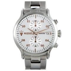 Maserati Epoca Chronograph Silver Dial Watch R8873618002