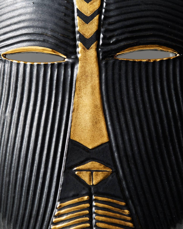 Mask Designed by Lisa Larsson, Sweden, 1950s In Excellent Condition For Sale In Stockholm, SE