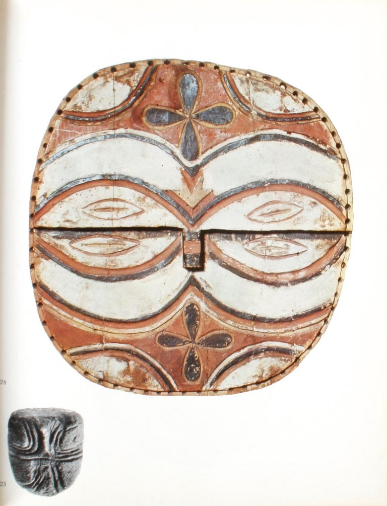 Masken Gesichter der Menschheit (Face Masks of Humanity) by Andreas Lommel. Zürich: Atlantis, 1970. First edition hardcover with dust jacket, protective glassine, German text. 229 pp. Art book of human masks from: Africa, Australia, Polynesia,