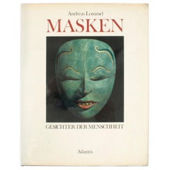 Masken Gesichter Der Menschheit 'Face Masks of Humanity', First Edition