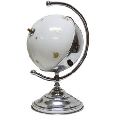 Masonic Globe Desk Lamp
