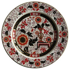 Mason's Ashworth's Ironstone Dinner Plate in Old Japan Vase Pattern, circa 1870