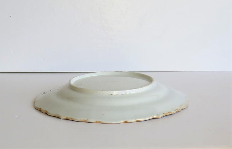 Mason's Ironstone Desert Dish or Plate Rare Gold Chrysanthemum Ptn, circa 1818 11