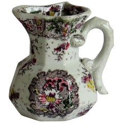 Mason's Ironstone Hydra Jug in Cashmire De Thibet Ptn, William 1Vth circa 1833